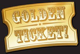 Winning a Golden Ticket